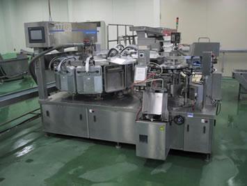 ロータリー式自動真空包装機