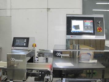 エックス線異物検出機・金属探知機